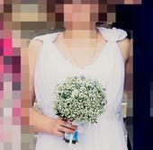 Kvalitní bílé šaty v antickém stylu, 38