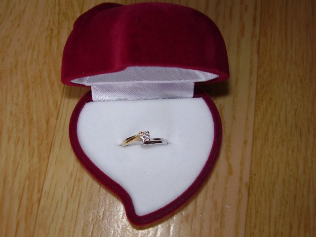 Svadobné prípravy - zasnubny prstienok