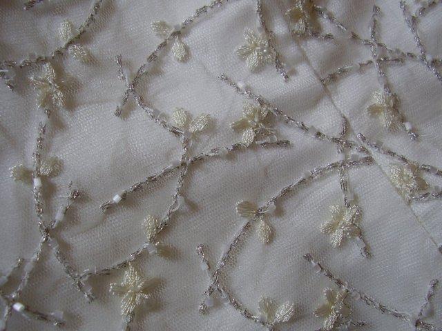 Svadobné prípravy - detail korzetu