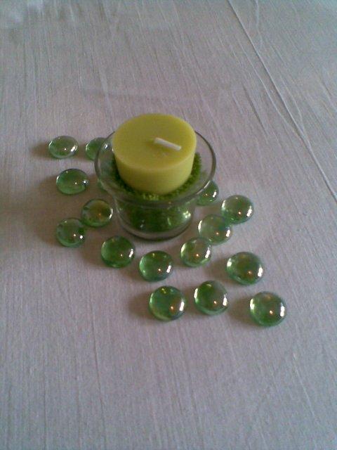 Svadobné prípravy - toto som vymyslela na stoly, pod to dam este zelenu organzu
