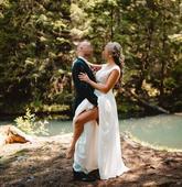 Svadobné šaty - Ivory farba, 36