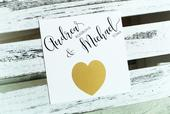 Originální stírací svatební oznámení,