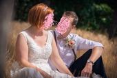 Svatební šaty vel 42/44, 44