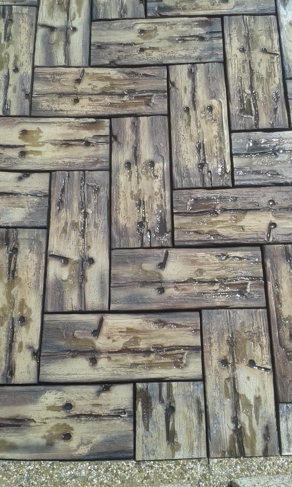 betonové drevo - drevo z betónu - Obrázok č. 4