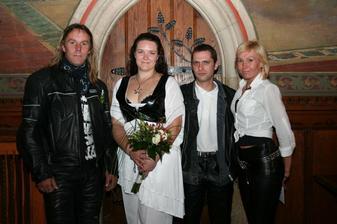 svědek, já, manžel, svědkyně