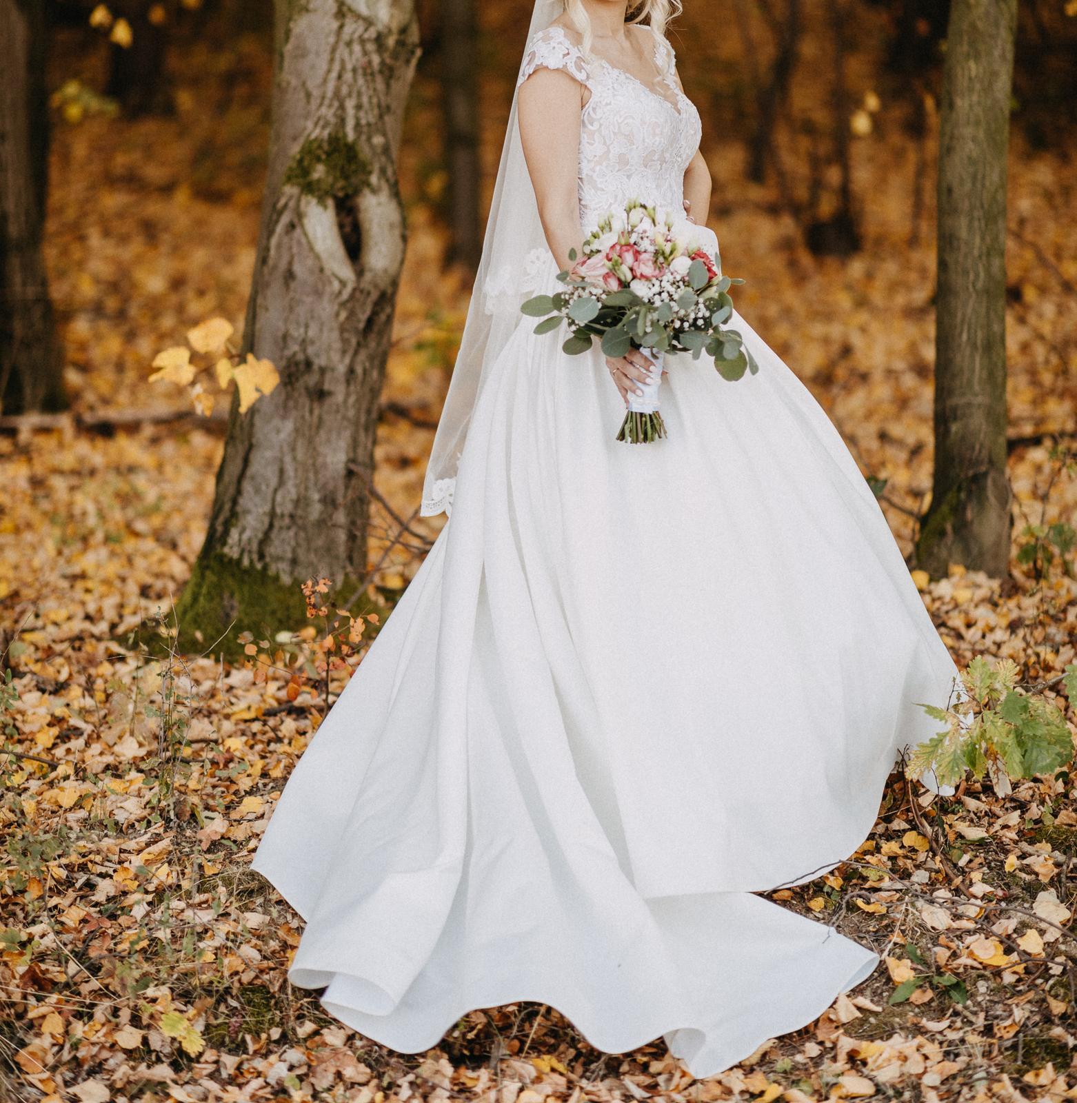svadobné talianske šaty - Obrázok č. 4