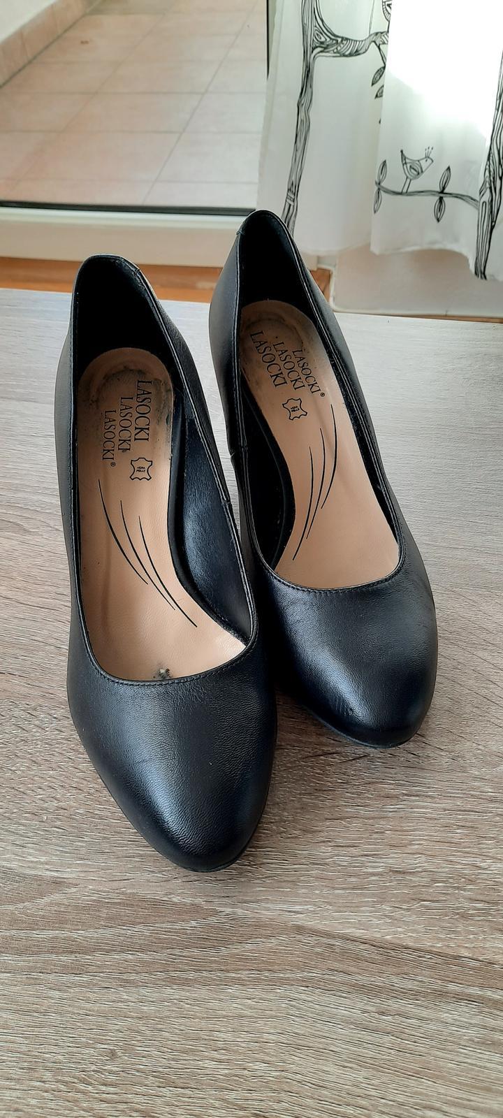 Dámské boty na podpatku - Obrázek č. 3