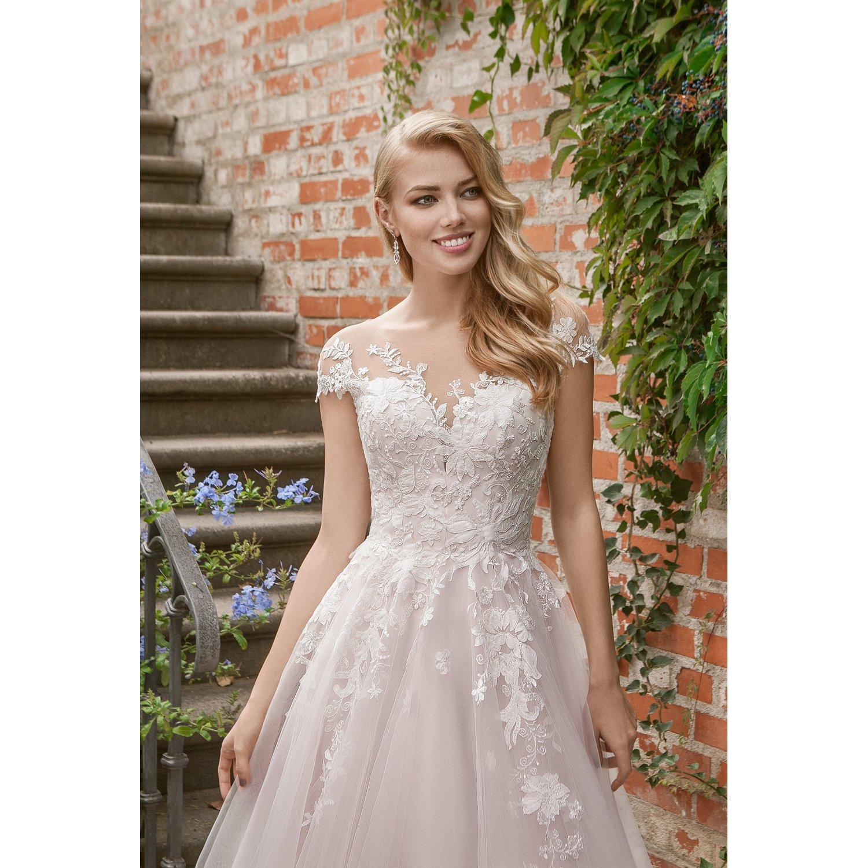 Predám NOVÉ nepoužité šaty Eva Grandes Candy veľ. 38, veľmi dlhé - Obrázok č. 1