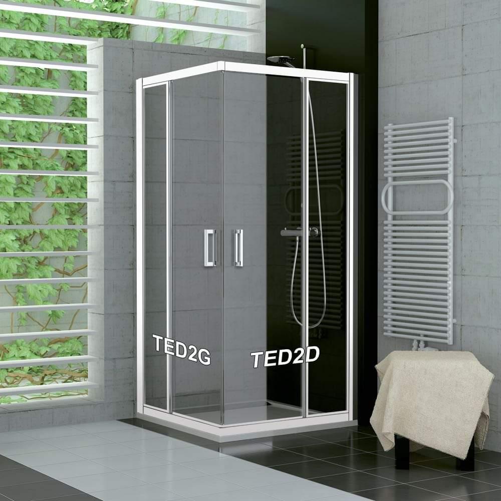 Nové luxusné sprchové dvere Sanswiss TED2 - Obrázok č. 1