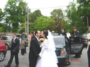 čerství manželia