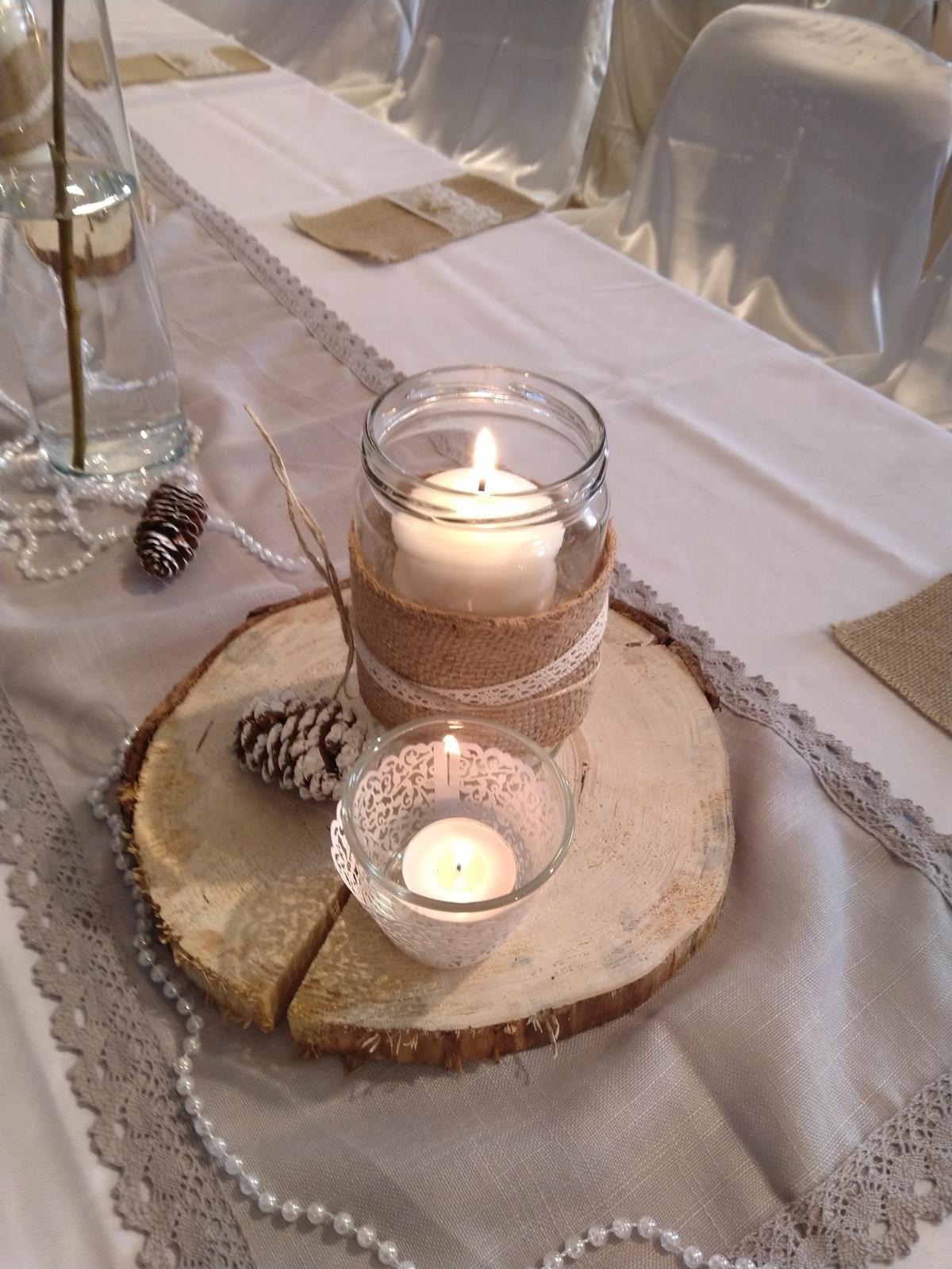 Svatební dekorace - potřeby - Obrázek č. 1