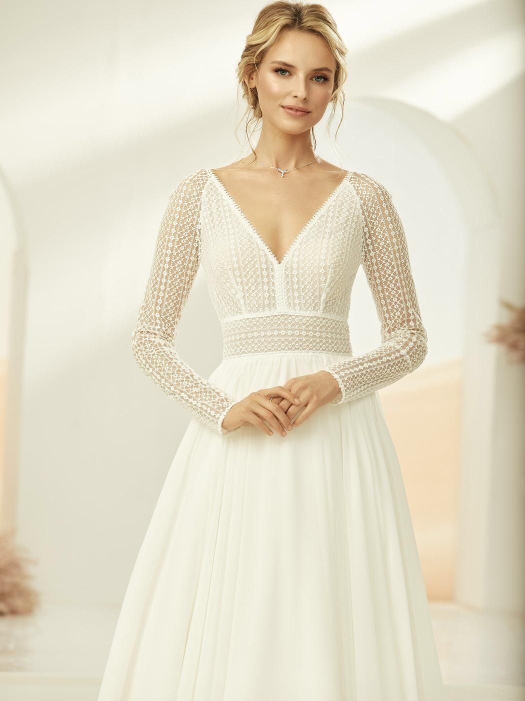 Jednoduché svadobné šaty - Obrázok č. 1