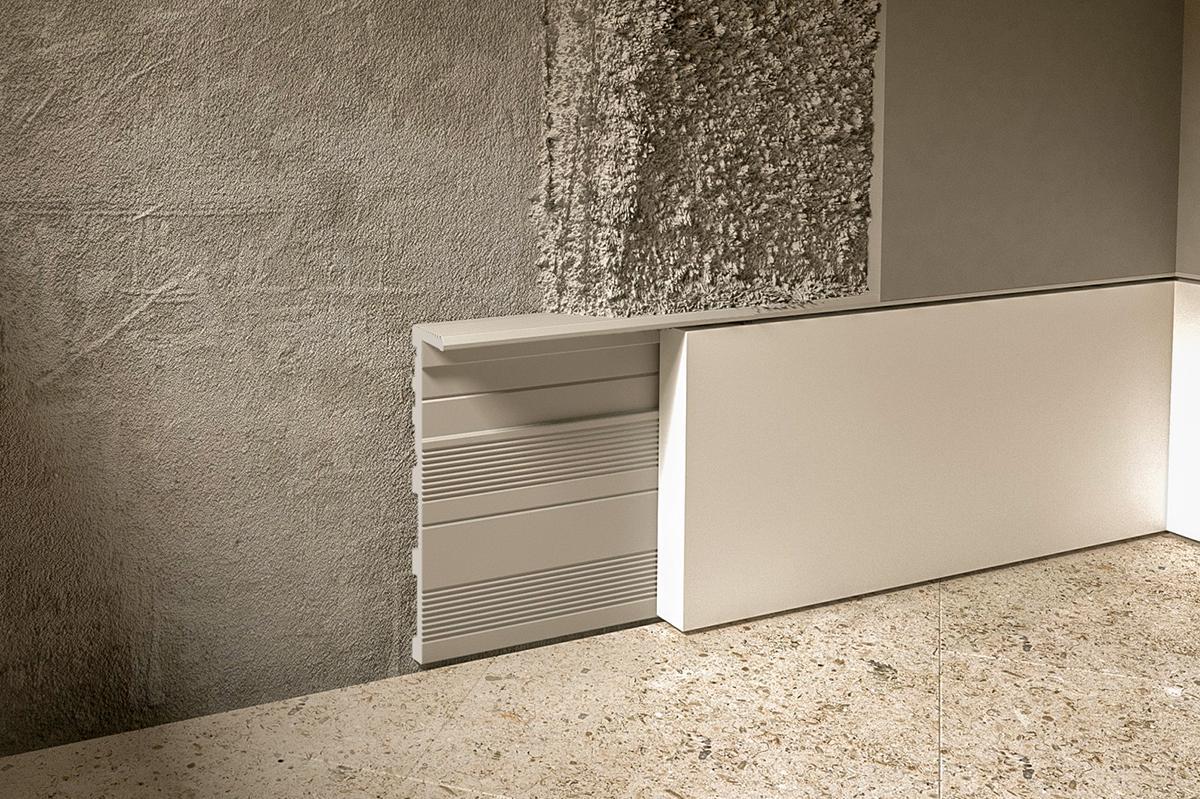 Skrytá podlahová lišta DORSIS LINUS 13 - profil 2.4m - Obrázek č. 1