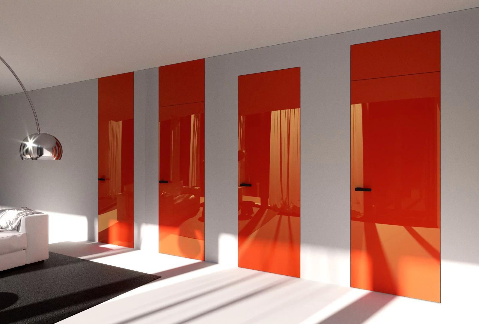 Dveře se skrytými zárubněmi Dorsis - V hlavní roli VARIABILITA - s výškou až 3500mm, s nadpražím či šikminou, vždy budou vhodné a krásné!