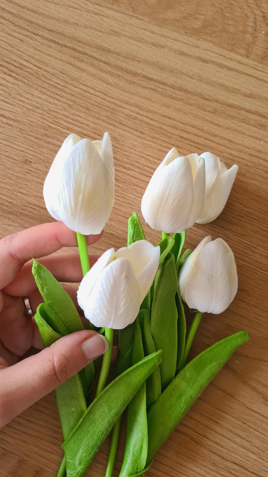 Umělé tulipány - 10 ks - Obrázek č. 1