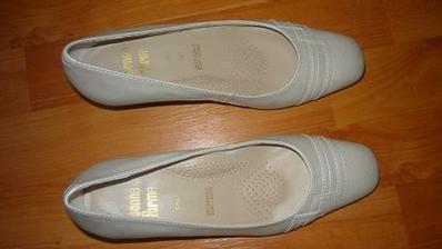 sehnat šampaň boty na nízkém podpatku