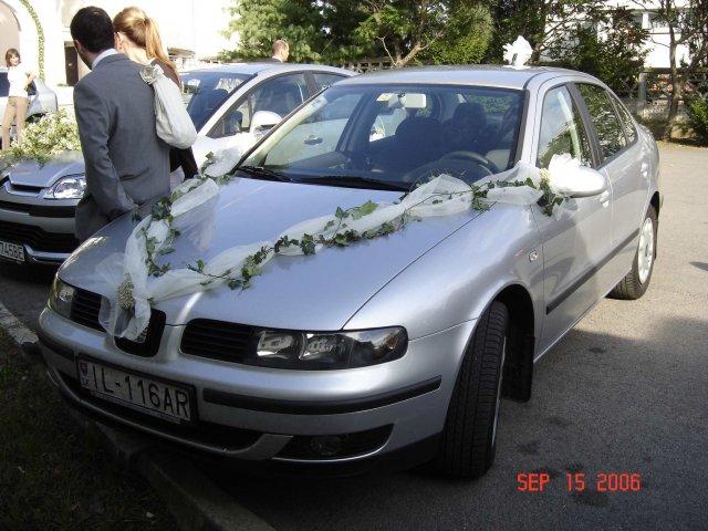 Adriana a Ivan - ako to všetko vlastne dopadlo - druhé svadobné auto