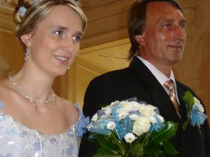 nevěsta a tatínek