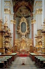 Kostel sv. Jilji - interier