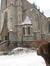 Twixikovi se kostel taky libil :-)