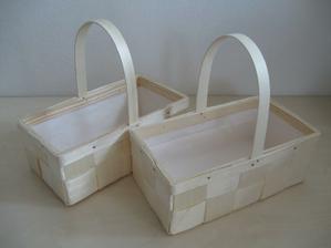 Košíčky na vývazky trochu jinak :-)
