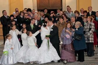 Spoločná rodinná foto