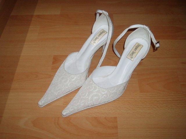 Petra a Marek - Svadobné topánky k mojim šatám