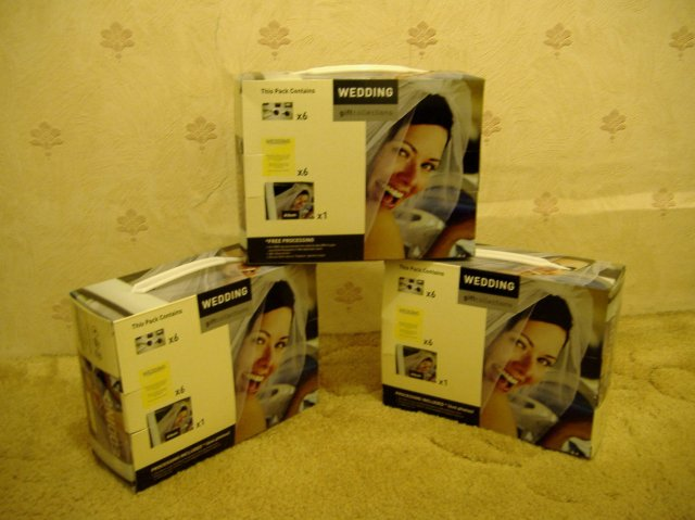 Petra a Marek - Svadobné fotoaparáty, ktoré budeme dávať v sále na stoly