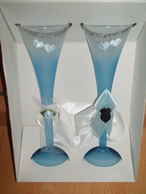 Petra a Marek - Naše svadobné poháre.