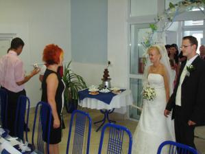 Privitanie v sale