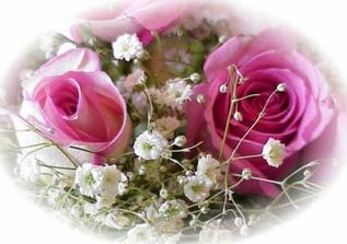Naše růžová svatba