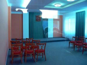 ...a naše nová zrekonstruovaná obřadní síň
