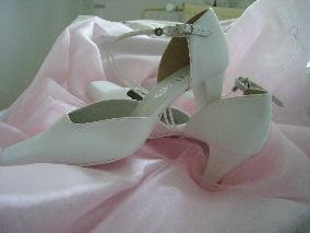moje svatební střevíčky