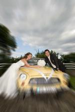 Naša svadobná limuzína