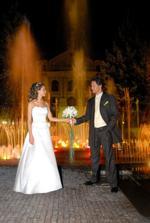 Večerná fontána
