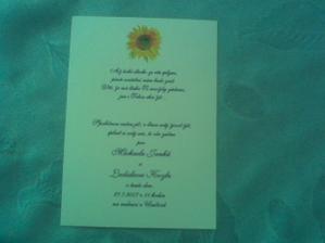 tak svatební oznámení už rozdáváme od května