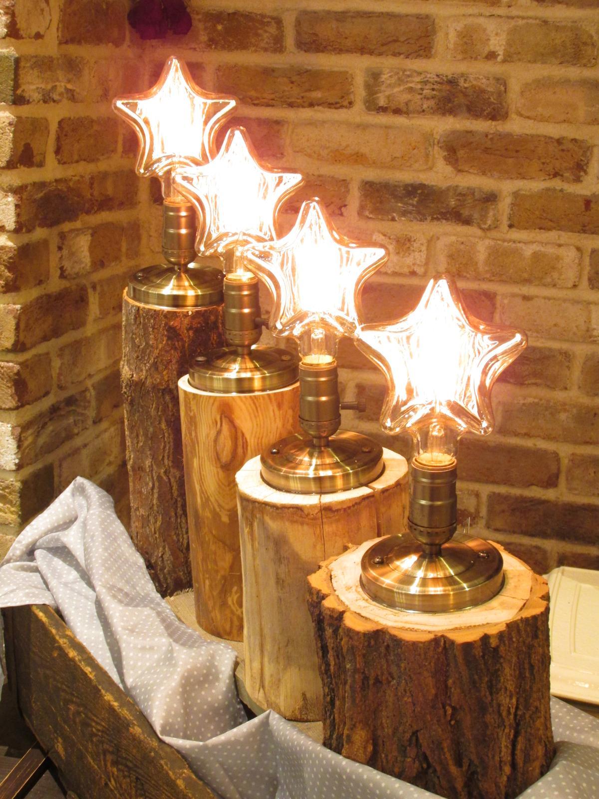 Vianočná lampa VINTAGE STAR - Obrázok č. 1