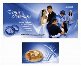 oznámení a pozvánka ke svatebnímu stolu, prosím nekopírovat ber mého souhlasu