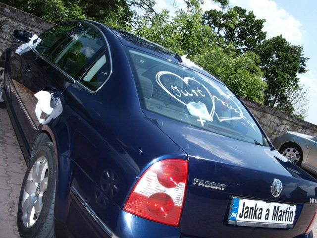 Janka Pastvová{{_AND_}}Martin Šteiger - naše svadobné auto