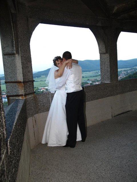 Janka Pastvová{{_AND_}}Martin Šteiger - momentka na veži zámku