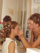 Make-up od sesterničky Evky (inak vernej Oriflamáčky)
