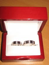 A tohle jsou naše prstýnky! :-) :-)
