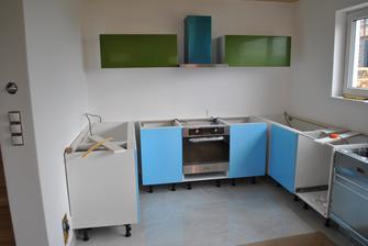 Kuchyňa naberá tvary