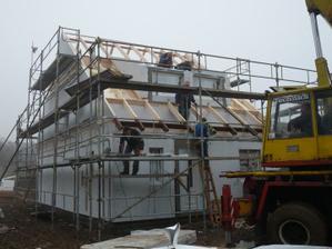 druhý den-střecha