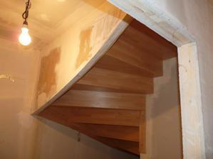 obložené schody