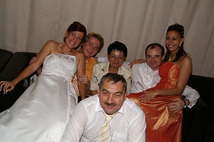 Žany Bendíková{{_AND_}}Mirko Jakubík - family foto :-)