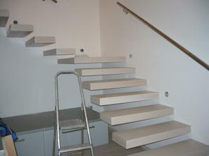 hotové schody