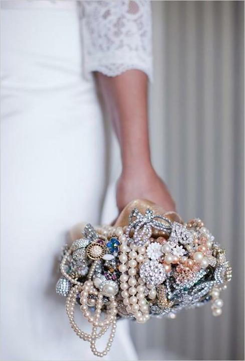 ♥Květiny♥ - Ze šperků