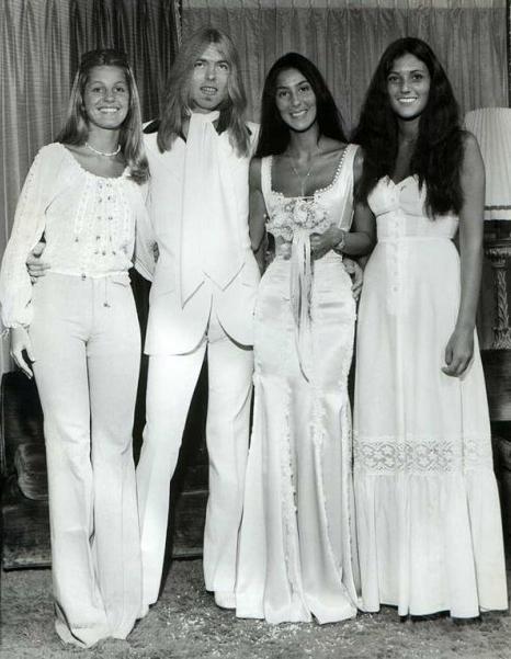Svatby celebrit - Cher  a Sonny Bono (1969)