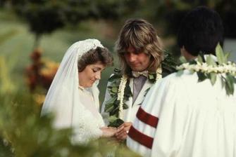 Ozzy Osbourne a Sharon Arden (1982)